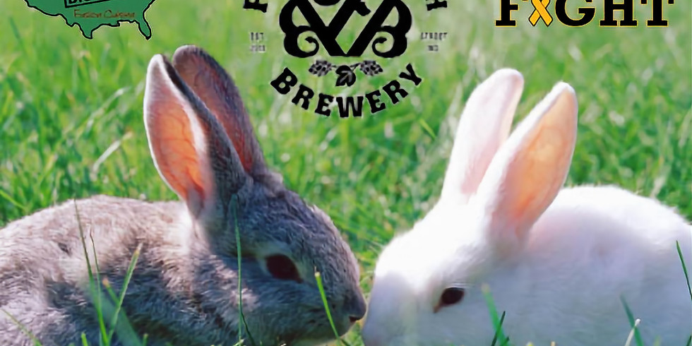 Breakfast with the Easter Bunny & Gold In Fight at Falling Branch Brewery!