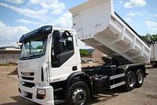 Locação de Caminhão Caçamba trucado truck Belo Horizonte BH Preço toco