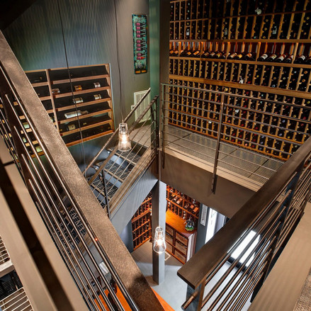 The Man Behind the Most Awe Inspiring Wine Cellars in the Country