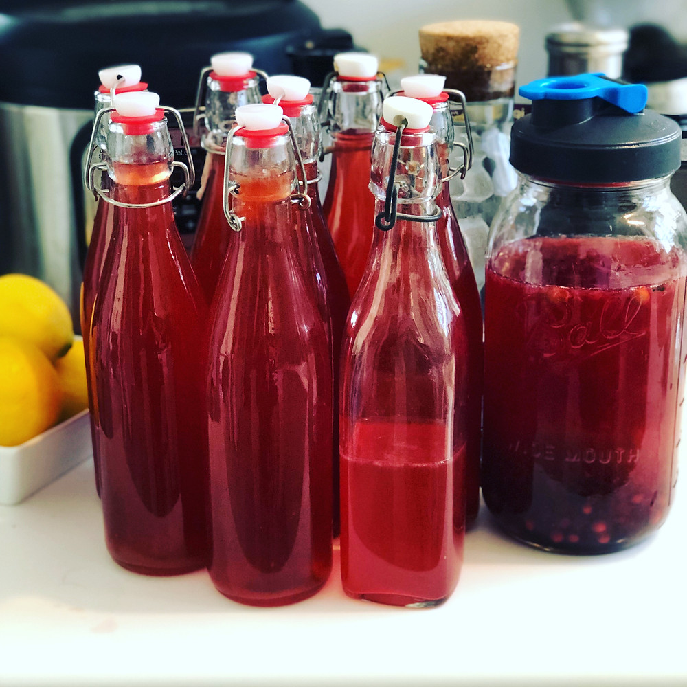 Handpicked Brentwood Cherry and Vanilla Kombucha