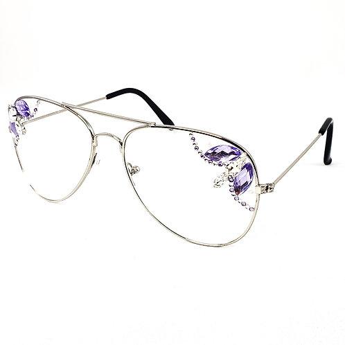 Style 1404 - Purple/Clear