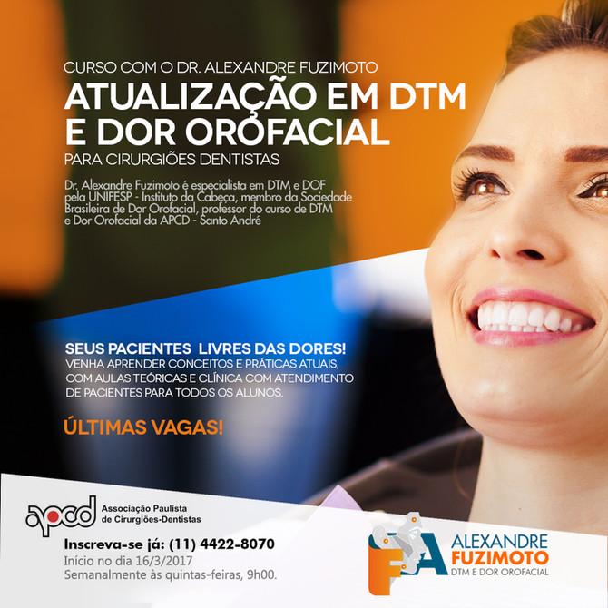 Curso de atualização em DTM e Dor Orofacial para dentistas