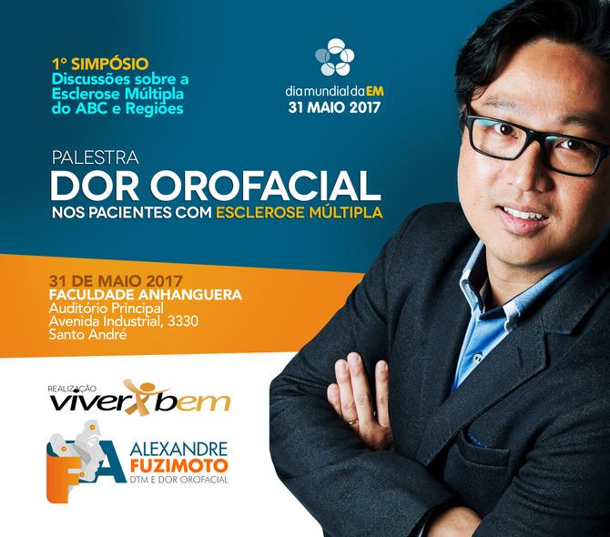 Dor orofacial no 1 Simpósio de Esclerose Múltipla do ABC e regiões 31/05/2017