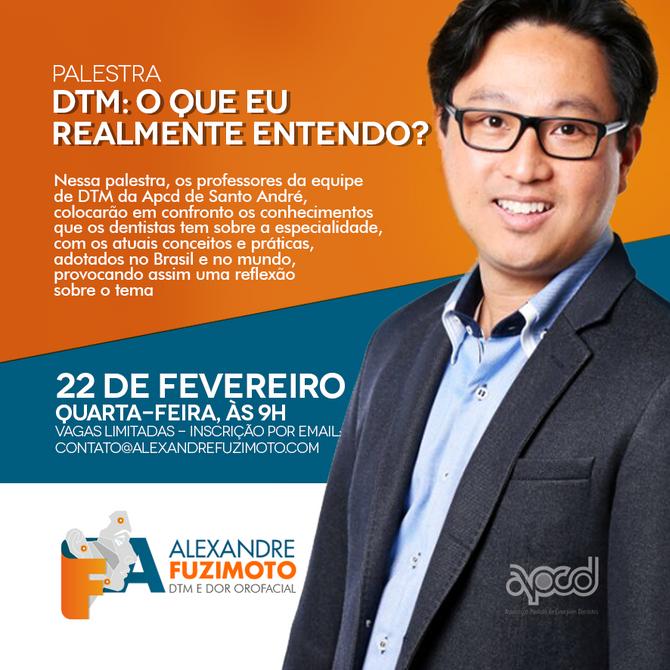 Palestra para dentistas na APCD Santo André
