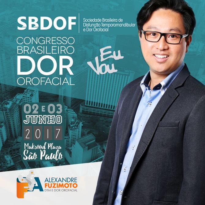 III Congresso Brasileiro de Dor Orofacial SBDOF - 2017