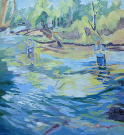 Fly fishing, Swift River