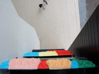 IT'SNOTSOIMPOSSIBLE, facade of Lasalle College of the Arts