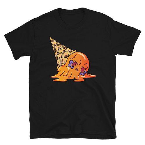 Orange Sugar Skull Ice cream Unisex T-Shirt