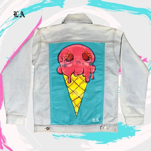 Strawberry Sugar Skull Ice cream