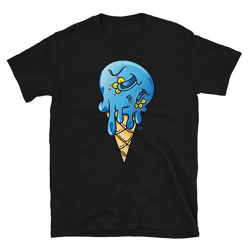Blue Sugar Skull Ice cream Unisex T-Shirt