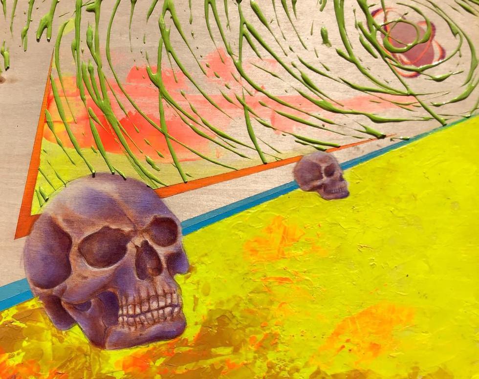 skull study (lavender)