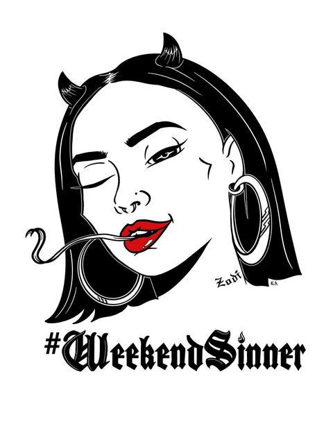 #WeekendSinner