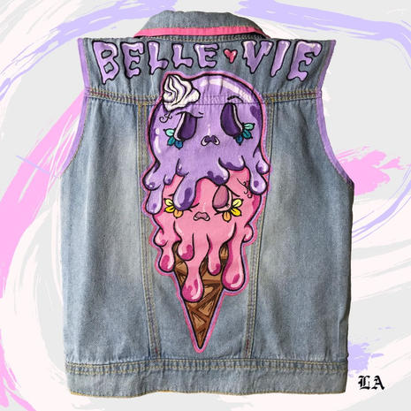 Denim Vest for Belle Vie