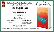 Bangalore Invite - From Another Land Cor
