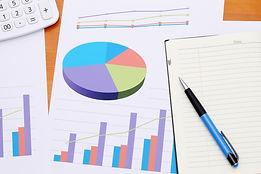 分析データのグラフとノート