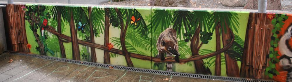 Detail Dschungel