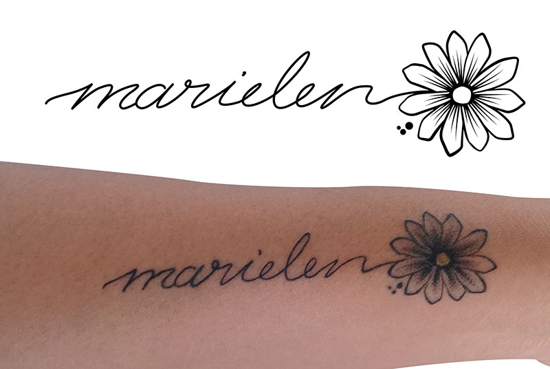 Grafik für ein Tattoo