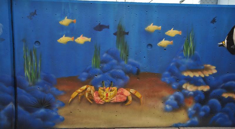 Detail Unterwasser