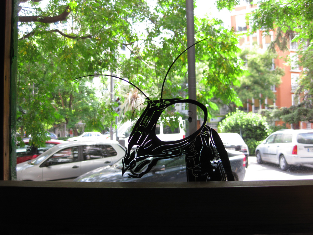 Mantis-Aufkleber
