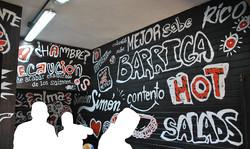 Innenraum Restaurantecke