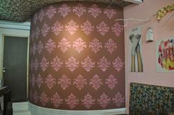 Vintage Damask Wand