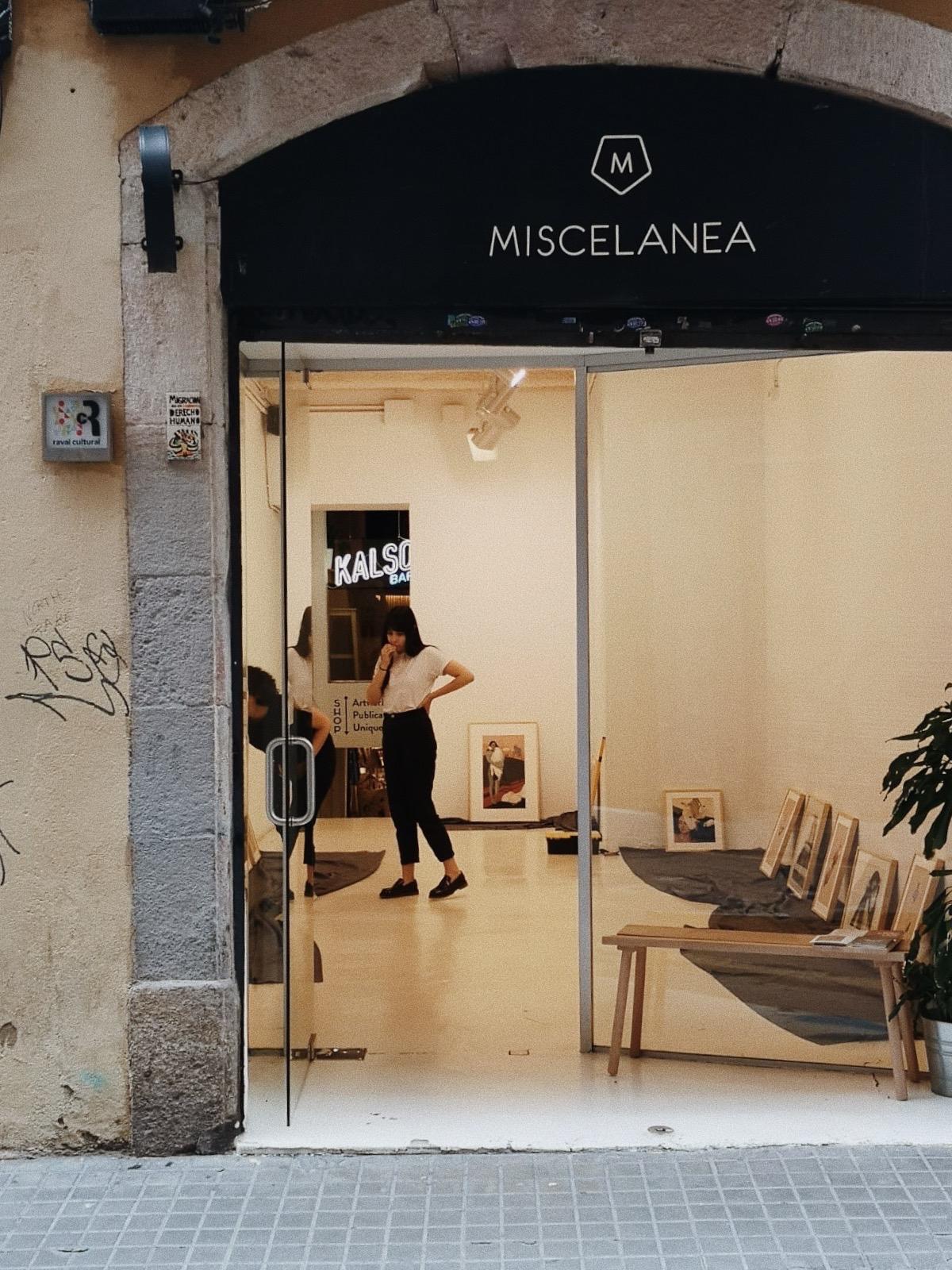Exposición individual en Miscelanea Bcn: Canto de cisne