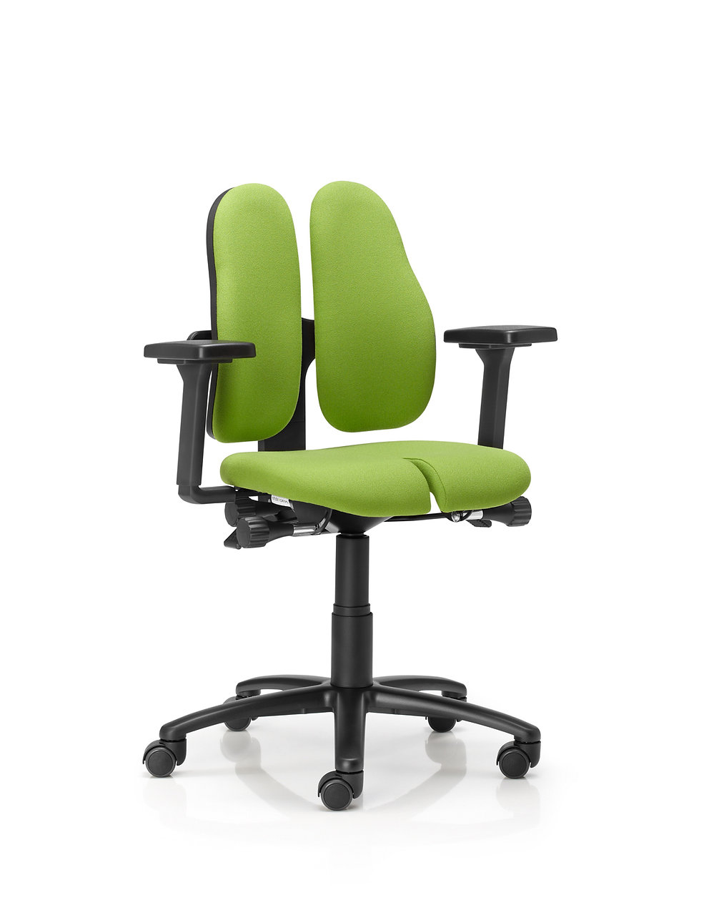 DuoBack Office Chair with a Split Seat