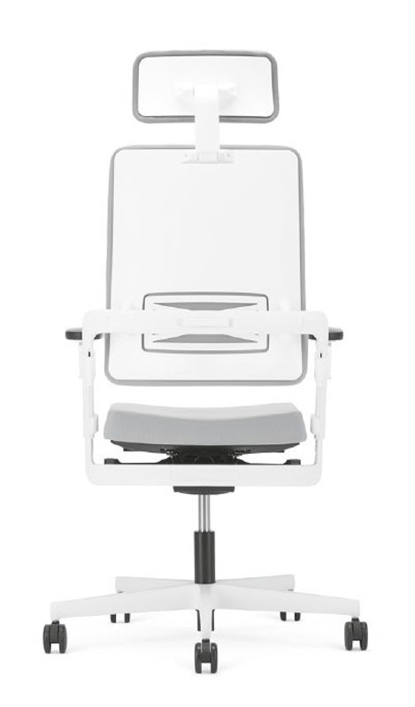 Xilium office chair in white
