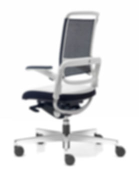 Xenium Mesh Back Office Chair_White