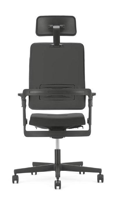 Xilium office chair in black