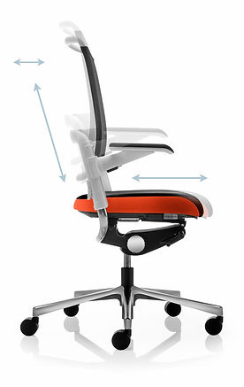 Xenium_Mesh_Back_Office_Chair_Adjustment