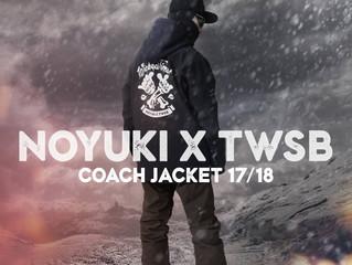 [ NOYUKI x TWSB ] 聯名款 Coach Jacket