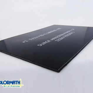 Etching on ACM ( Alucobond )