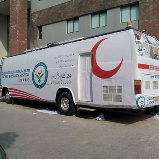 Branding for Hospital Bus