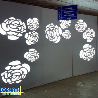 Router Cut Led Wall
