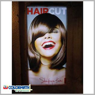 Backlit LED Poster for Branding