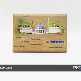 Printing on Wooden Sheild