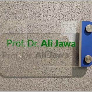 Hospital Door Name Pate