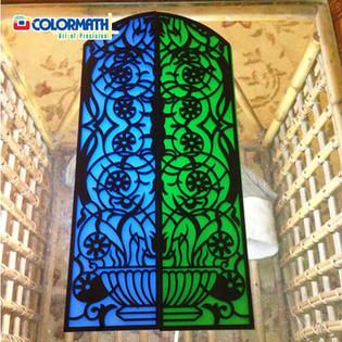 Laser Cut Acrylic Jaali Pattern