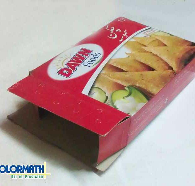 Card - Samosa Packaging Box