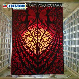 Laser Cut Acrylic Jaali