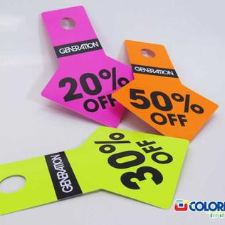 Discount Card - Shelf Talker