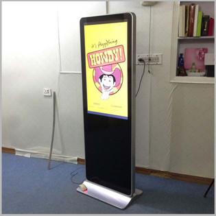 Floor Standing LCD Screen