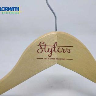 UV Printing on Wooden Hanger