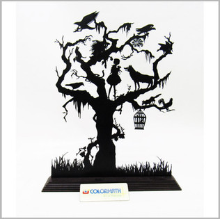 Laser Cut Acrylic Tree