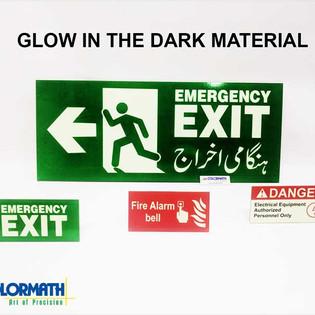 Glow In Dark Material