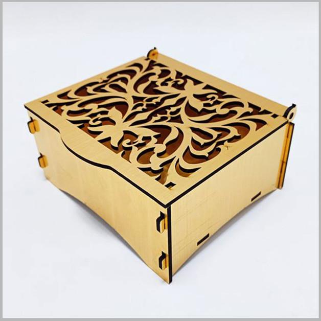Laser Cut Mdf Box