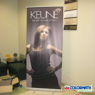 Printing Roll Up Stand for Instore Promotion