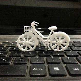 Laser Cutting bicycle