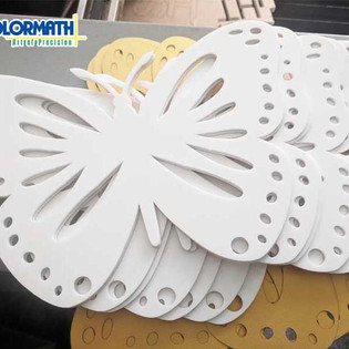 Laser Cutting Acrylic Butterfly